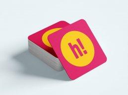 HiDay - Branding coaster